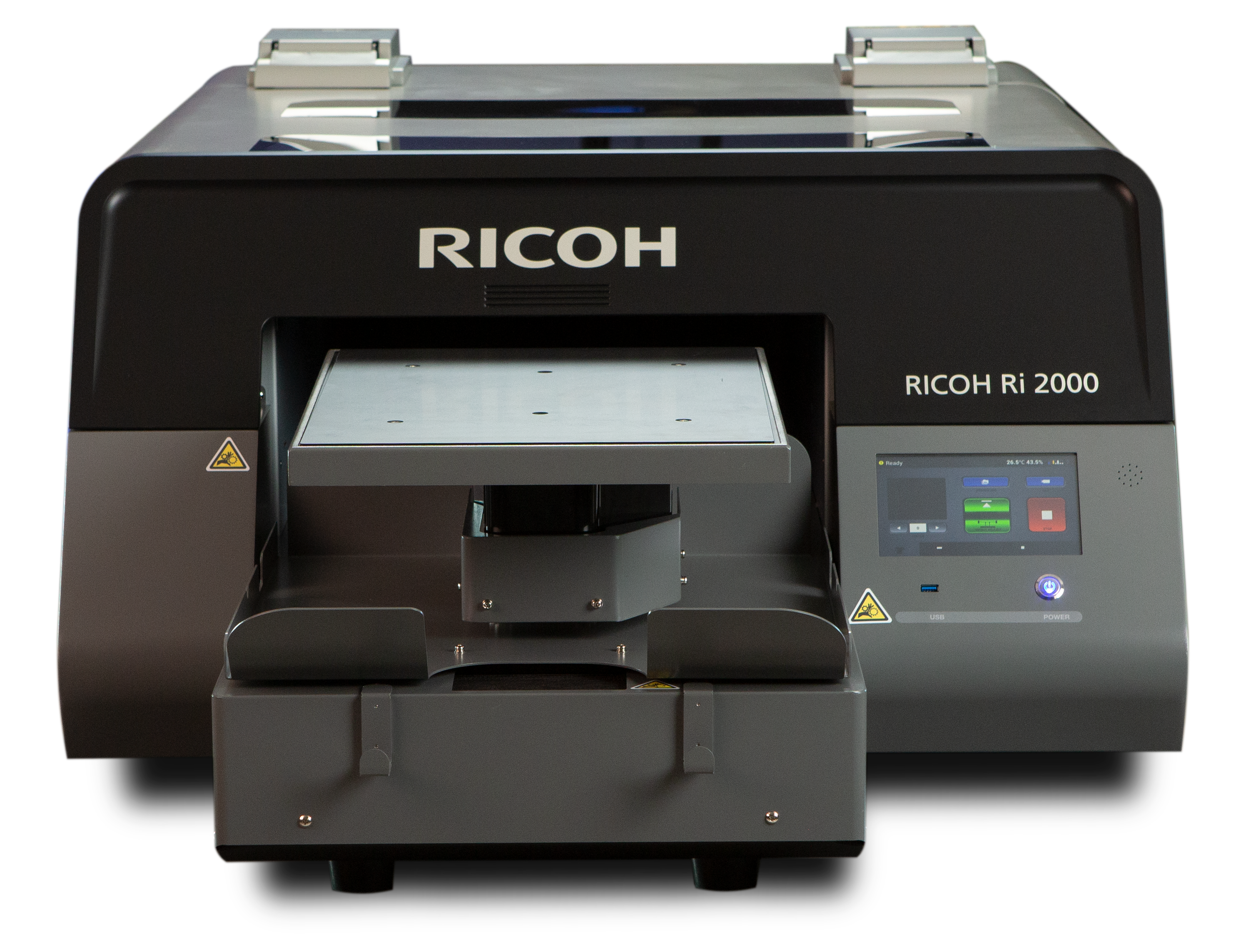 Ricoh next generation Direct to Garment technology offers productivity breakthrough