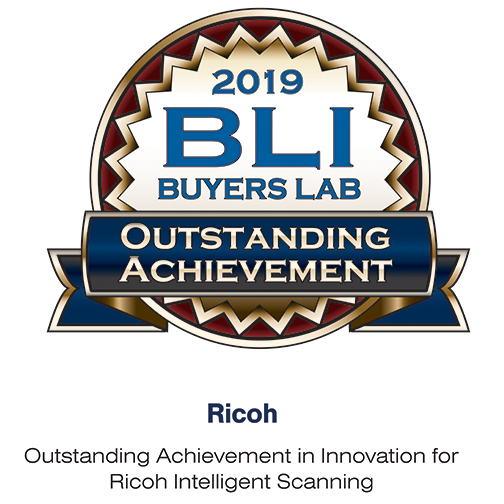 IM C3500A - BLI Award Outstanding Achievement in Innovation for Ricoh Intelligent Scanning